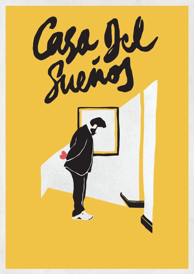 Simon Perini poster print for Jason Perini film. Casa Del Sueños.