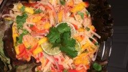 Jicama Mango Salad with Cilantro and Lime Recipe - Allrecipes.com