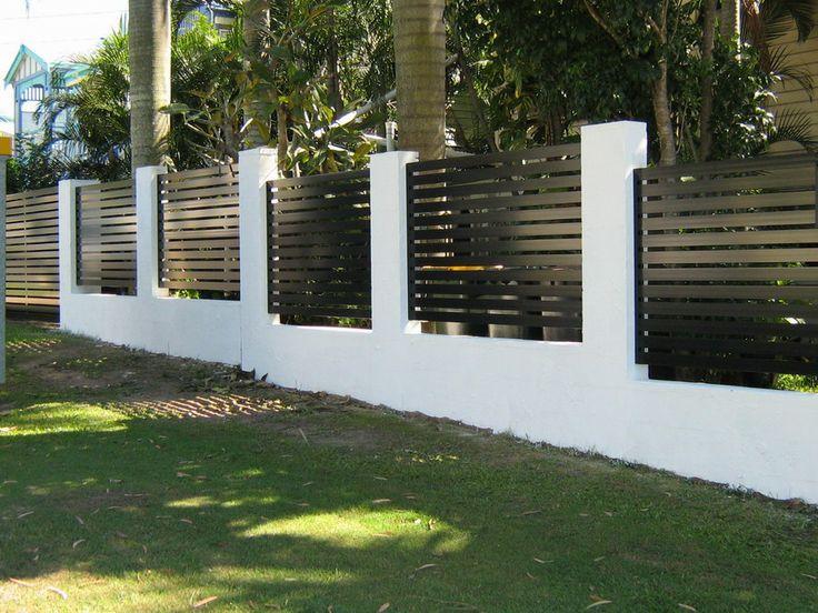 30 best images about Backyard Fence on Pinterest Brick