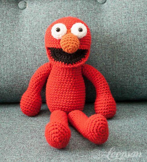 Elmo Doll Knitting Pattern : Mas de 1000 imagenes sobre Munecos en Pinterest Patron ...