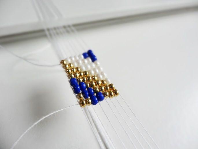 96 besten perlen bilder auf pinterest perlenschmuck anleitungen und perlenketten - Perlenarmband basteln ...