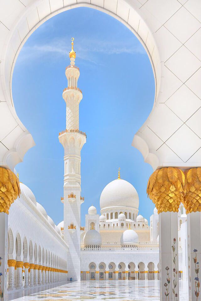 Abu Dhabi Grand Mosque { @withlovemaya }