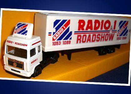 Corgi Roadshow vehicle (late 80s)