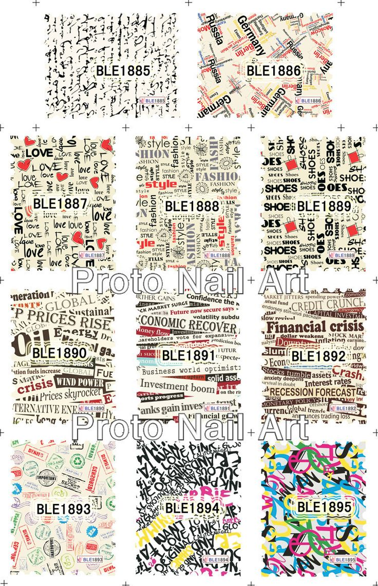 Makartt Новый BLE Почтовые Марки Карта Дизайн Наклейки Старинные Дизайн Воды Ногтей Наклейка Nail Art Украшения Оптовые