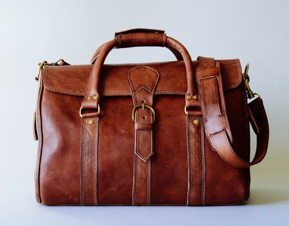 Carry all brown leather bag like this one, but one that's not crazy expensive