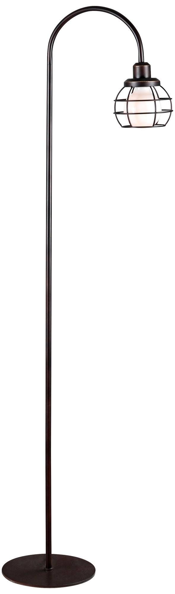 Kenroy Home Caged Oil Rubbed Bronze Floor Lamp - #1X462 | Lamps Plus