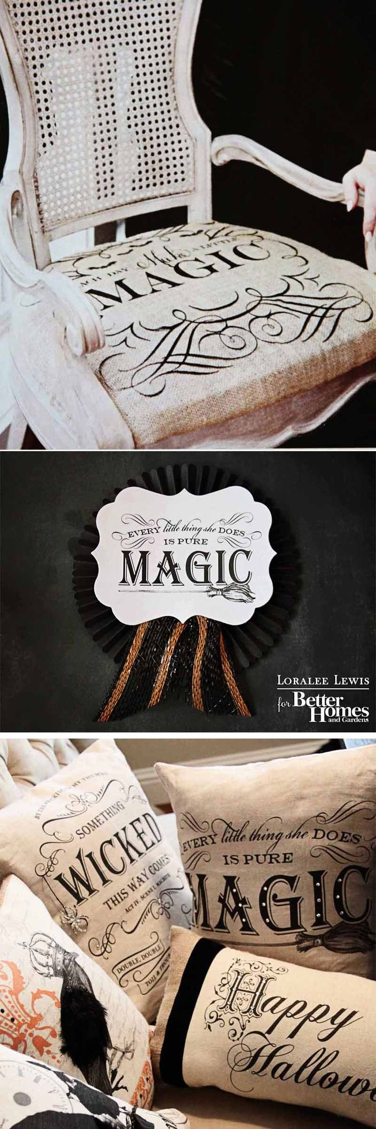 bhg halloween magazine loralee lewis feature top 10 decorating tips for your halloween party