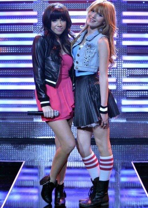 Bella Thorne and Carly Rae Jepson