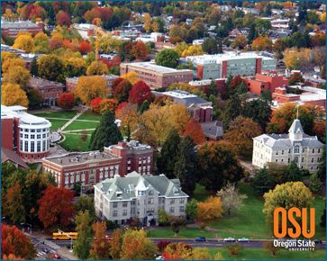 Corvallis, Oregon. Oregon State University. I lived in Corvallis from 1970 to the Spring of 1972.