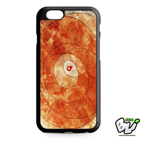 Orange Abstract Painting iPhone 6 Case | iPhone 6S Case