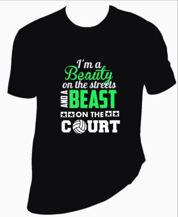 Free Shipping Custom Volleyball shirt. Look like by XtremeBoutique