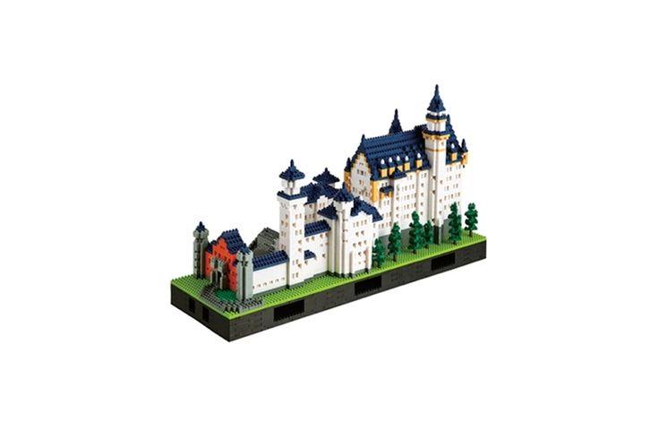 Nanoblock Deluxe Edition Castle Neuschwanstein Neuschwanstein Castle Lego Architecture Castle