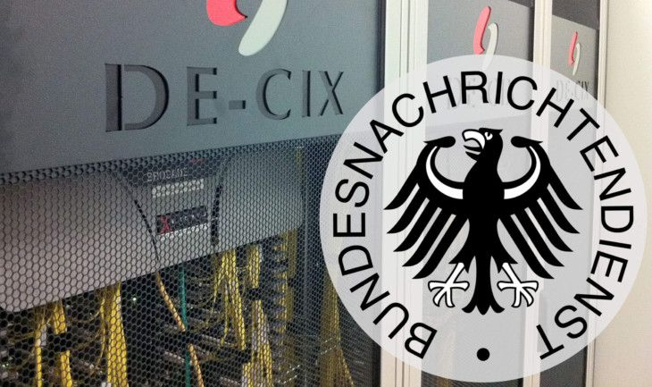 BND on Internet-Exchange-Point DE-CIX.