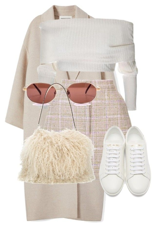 """""""Sans titre #3326"""" by mstfscxrus ❤ liked on Polyvore featuring Natasha Zinko, Yves Saint Laurent and Tory Burch"""