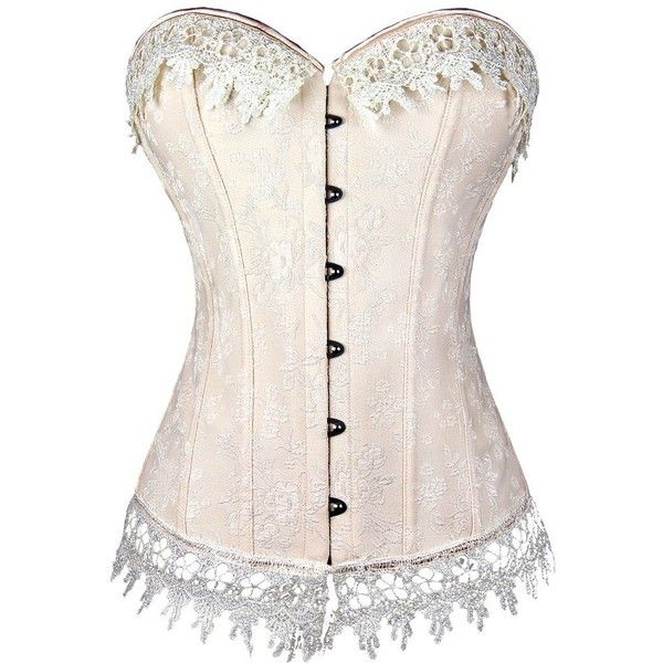 Imilan Women Lace up Corset Floral Print Overbust Bustier Tops Plus... ($13) ❤ liked on Polyvore featuring tops, corsets, corsettes, plus size corset tops, pink plus size tops, lace up top, pink bustier top and floral corset top