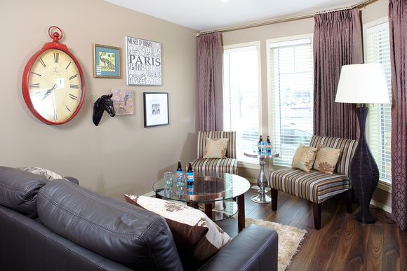 Complete with an art wall and generous seating for entertaining.