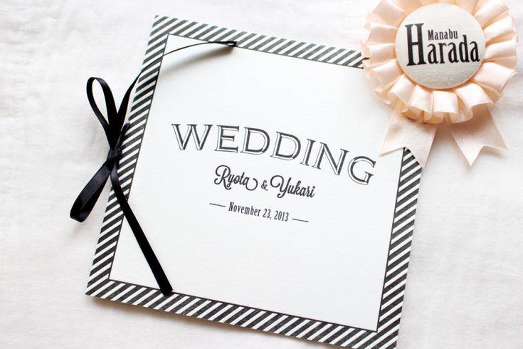 結婚式の席次表をレタープレス印刷で自作してみました