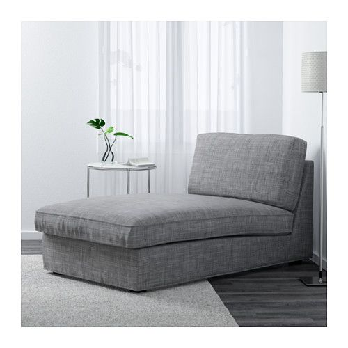 KIVIK Chaise - Isunda gray - IKEA Always, always, always have wanted one of these. Great for reading, napping, and playing handheld games.