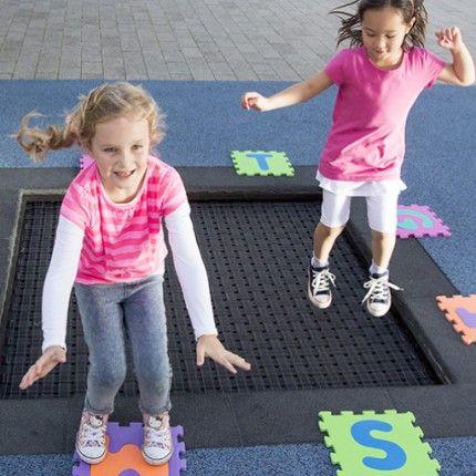 Eurotramp Kidstramp In-ground Trampoline   Capital Play
