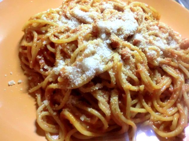 Pasta all'amatriciana takes its name from Amatrice, a small town near Rieti, about 100 km from Rome and it's made with cheek lard, pecorino ...