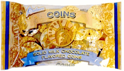 Chocolate Gold Coins 4oz. Bag