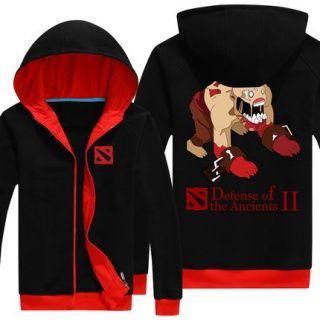 4XL NAIX fecha acima o hoodie para homens Dota 2 de manga comprida camisola com capuz