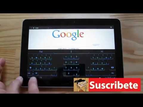 6b1fb789181 SwiftKey X virtual keyboard in Android [Tablet][Hands-on][HD] - YouTube