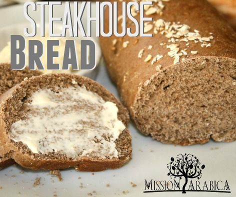 This recipe is a nice hearty bread; good enough to stand next to steak dinner, or eat alone smeared with butter. Check out the secret ingredient that makes it extra special!