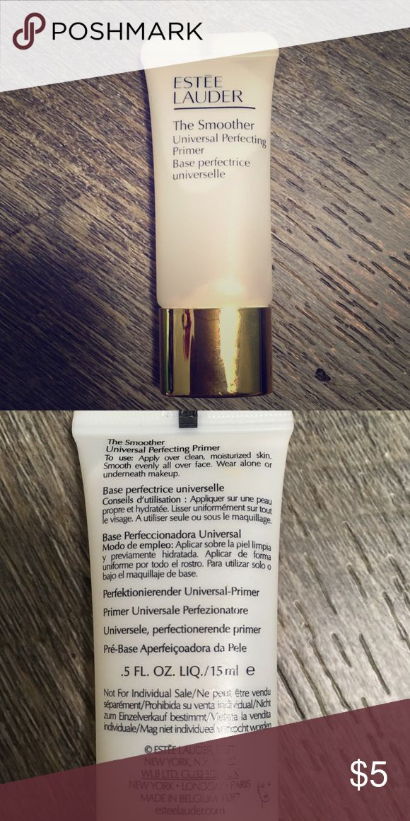 Free with purchase! Estée Lauder The Smoother Please add