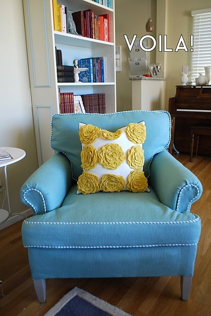 #RECOVER Furniture!!!! Rediculously Easy