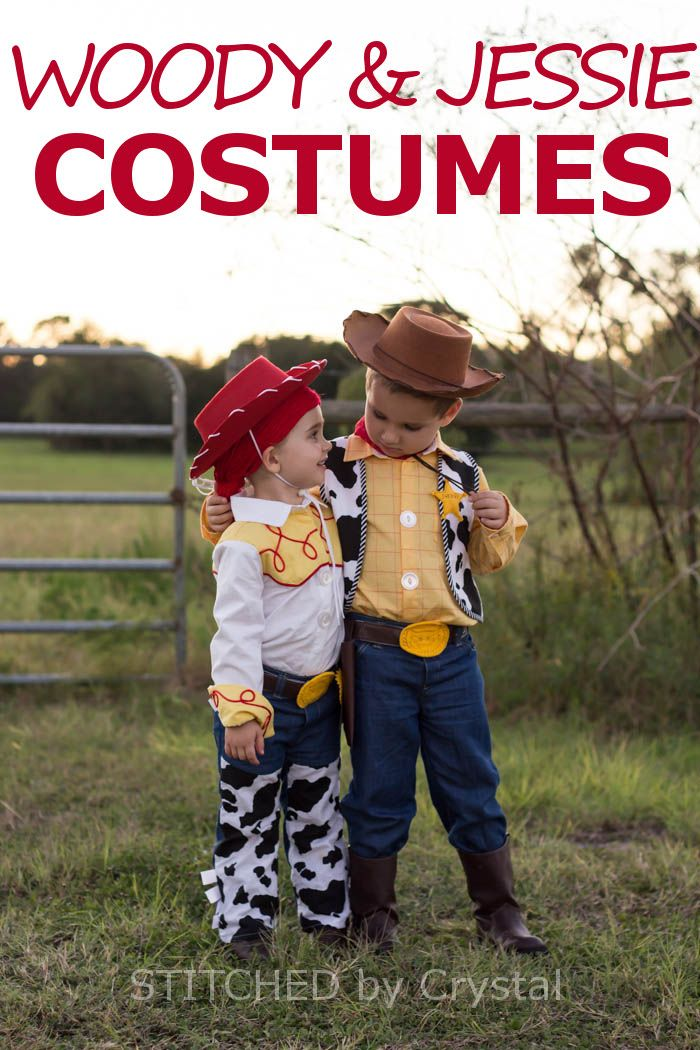 halloween 2015 woody and jessie stitched by crystal - Toddler Jessie Halloween Costume
