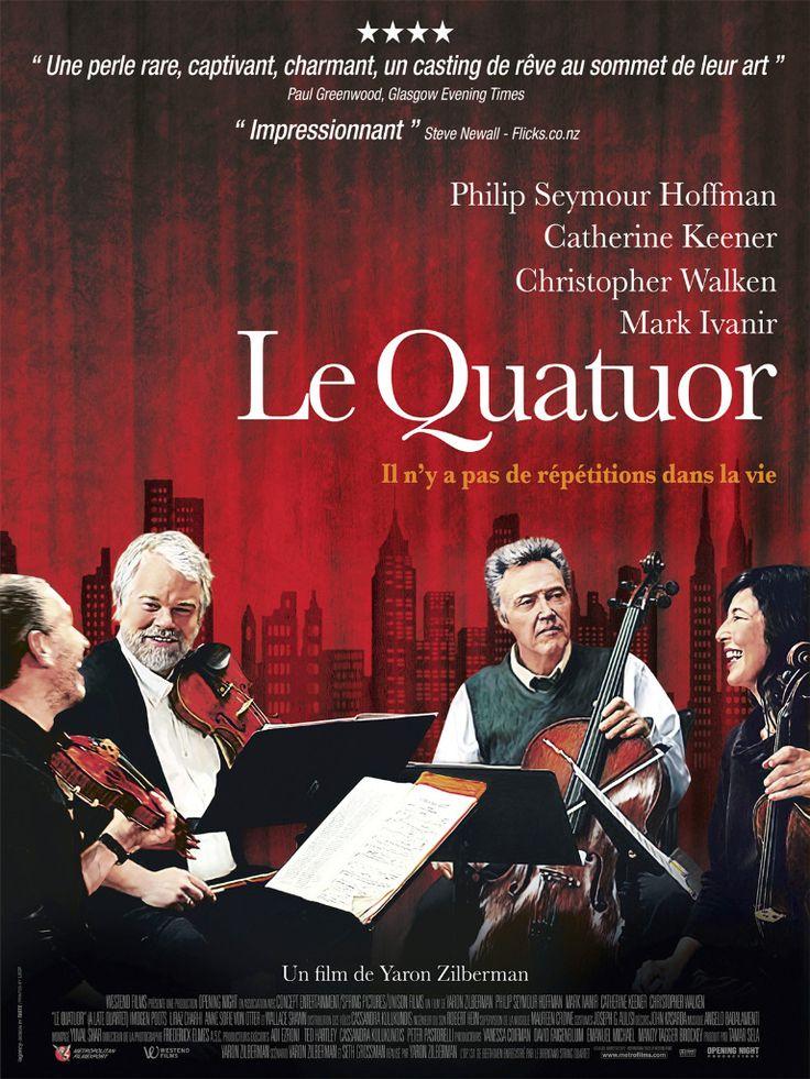 Lorsque le violoncelliste d'un quatuor à cordes de renommée mondiale apprend qu'il est atteint de la maladie de Parkinson, l'avenir du groupe ne tient plus qu'à un fil. Entre les émotions refoulées, les egos et les passions incontrôlables qui se déc...