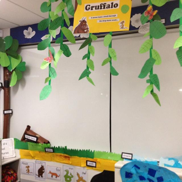 The Gruffalo Classroom Display