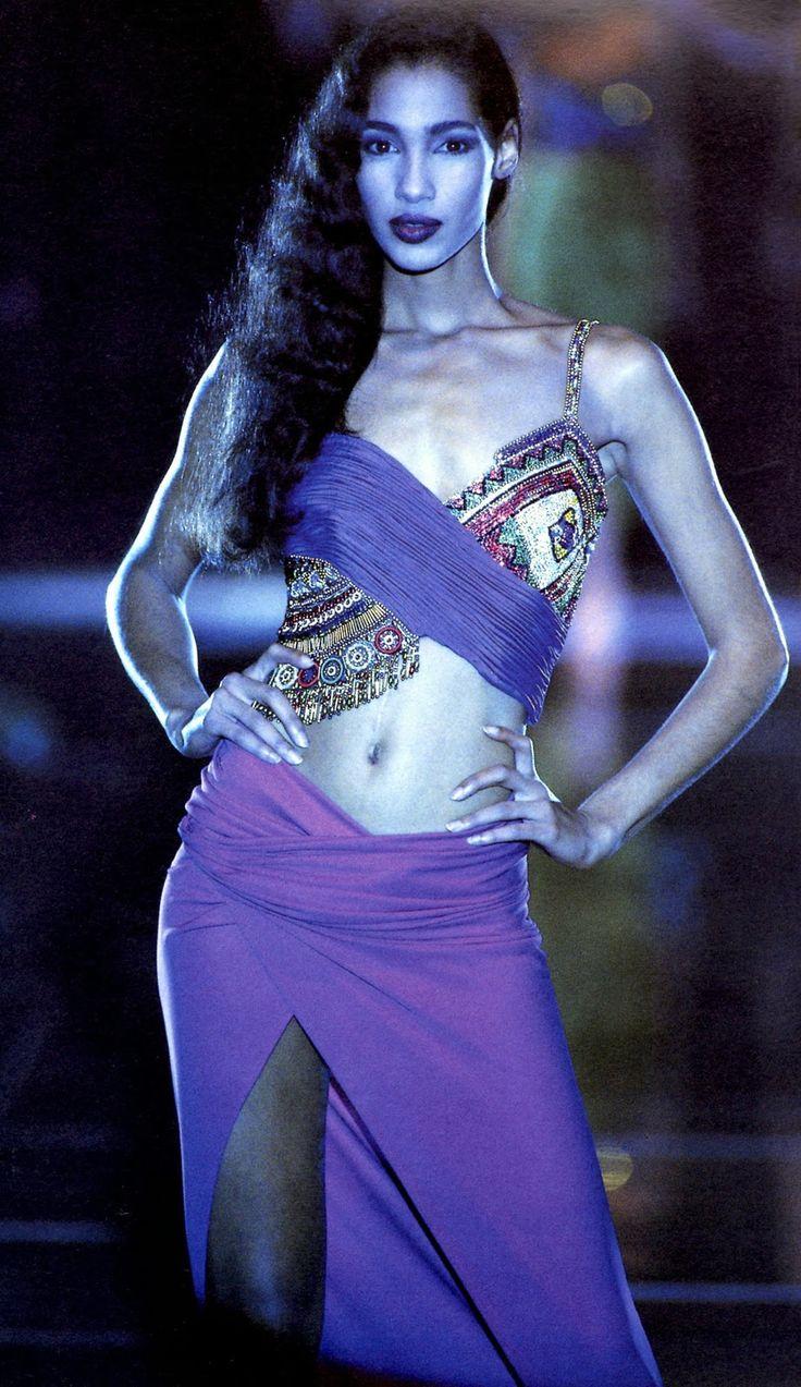 Sonia cole gianni versace show 1989