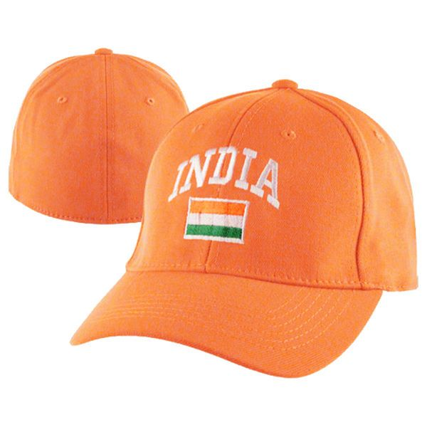 Top of the World India Country Flex-Fit Hat - Orange - $10.99