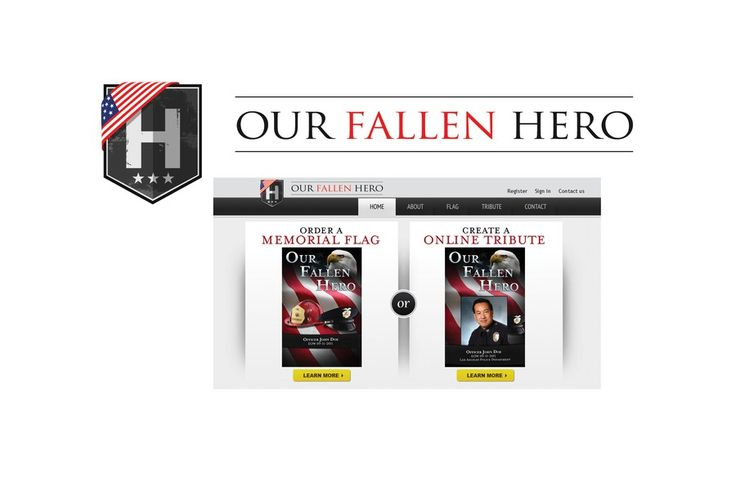 """OUR FALLEN HERO"" needs a LOGO!!! by alexspec"