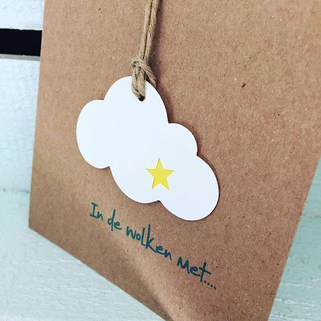 In de wolken met... de geboorte van Elis ☁️ #doopsuiker #geboortekaartje…