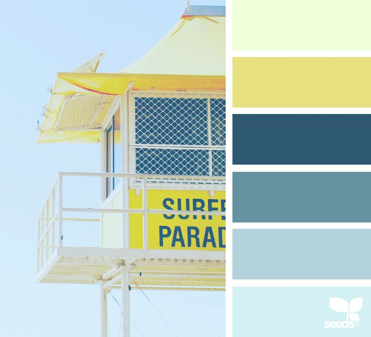 { color surf } image via: @thebungalow22 via @designseeds