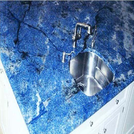 blue countertops | Blue Bahia Granite Countertops (3114), Blue Bahia, Pacific, Washington