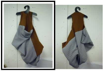 Subtraction Cutting dress tutorial