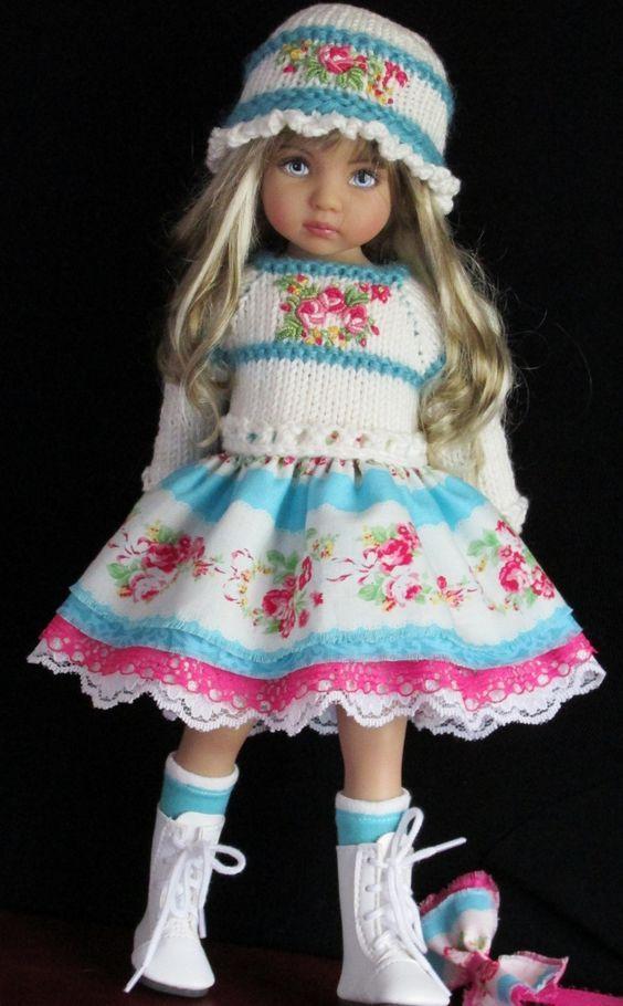 46 besten dolls Bilder auf Pinterest | Puppen outfits, Puppenkleider ...