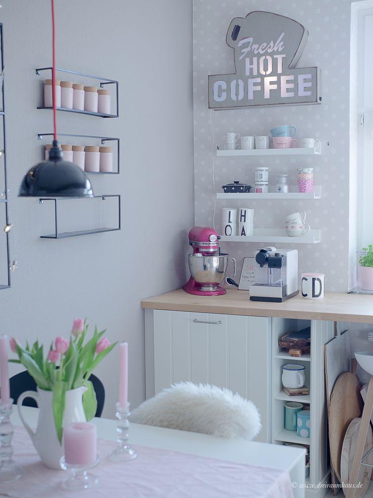 Lampendekoration In Der Ikea Kuche Mit Mobel Wikinger Leipzig In 2020 Kaffee Ecke Ikea Kuchenideen Kaffeeecke
