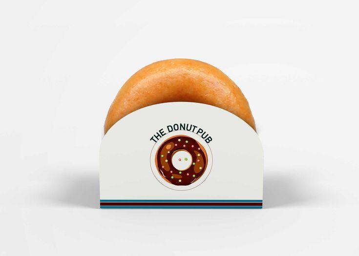 Download Free Single Donut Box Mockup (With images) | Box mockup ...