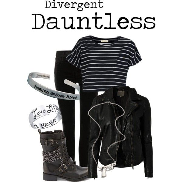 My Dauntless Outfit #divergent #dauntless