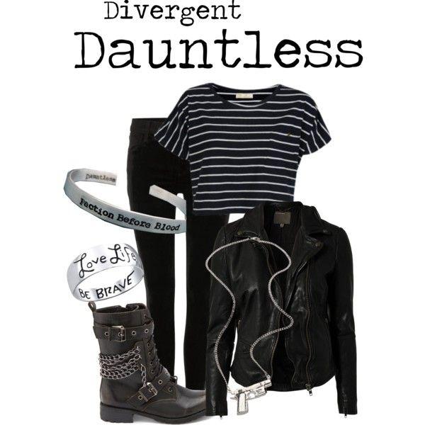 My Dauntless Outfit #divergent #dauntless
