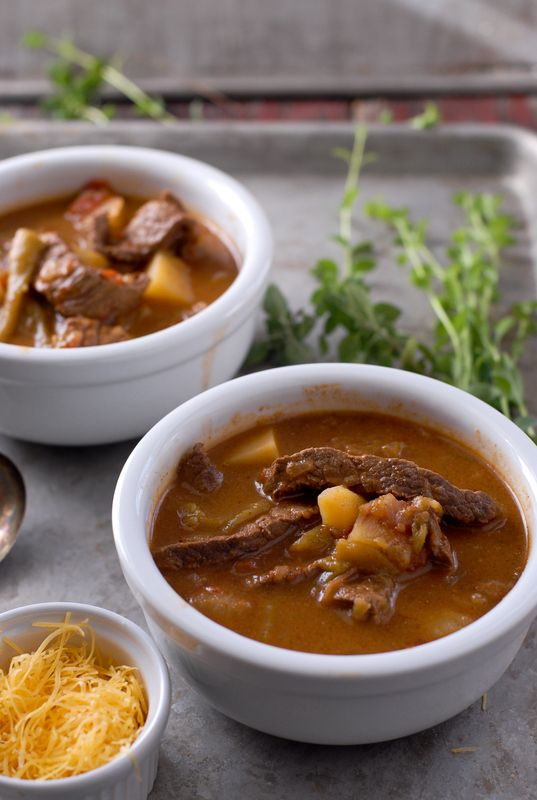 Dinner tonight, Subbing the flank steak with TJ's beefless strips and beef stock with beef less bouillon. Caldillo {Mexican Steak Soup}  - BoulderLocavore.com