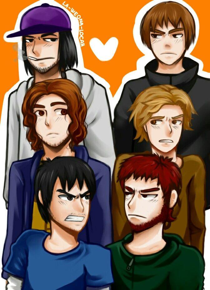 Bestia Negra+Lo Peshoh=Beshoh Eddgar+Manuel(YeloHD)=Eddyel Nicolas+Jaime=Jainico(OTP)
