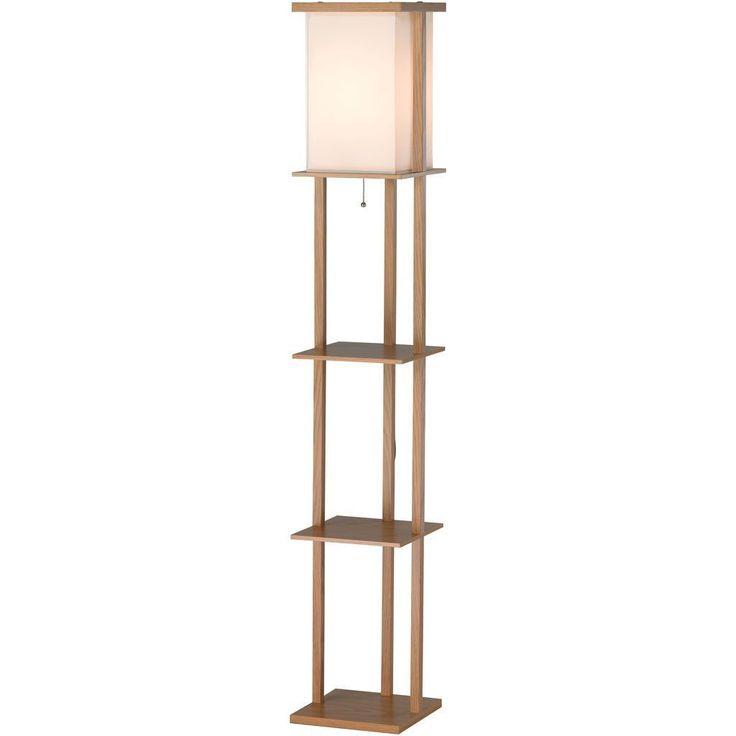 Baranec Shelf Floor Lamp