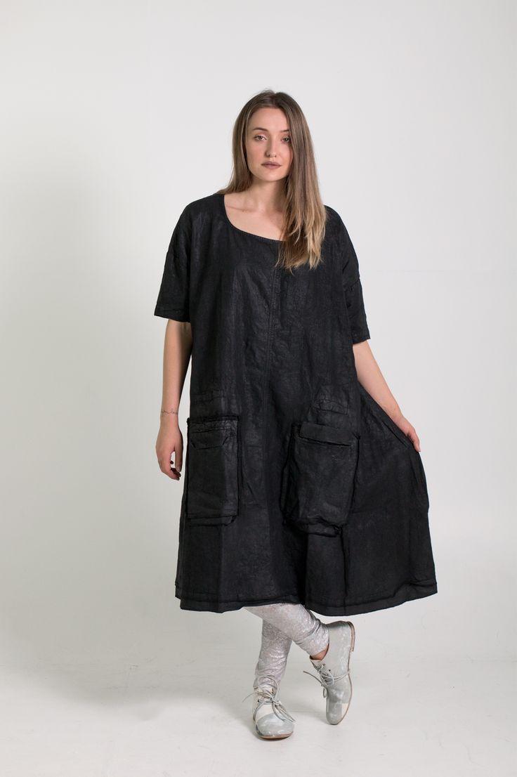 Rundholz Dip | Et Vous | Black Coated Dress