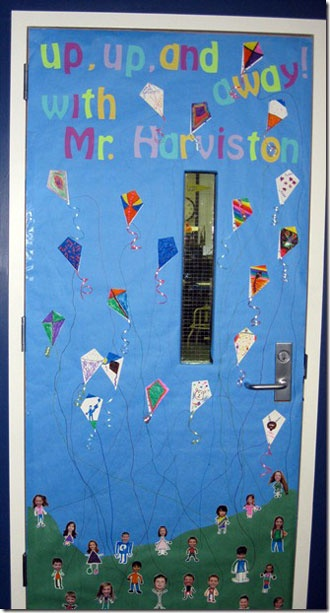 School Door Decorations for Spring